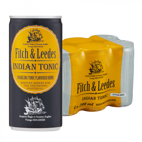 Fitch and leedes tonic plus pack