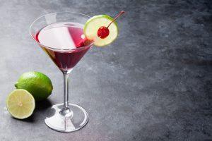 cocktail cosmopolite